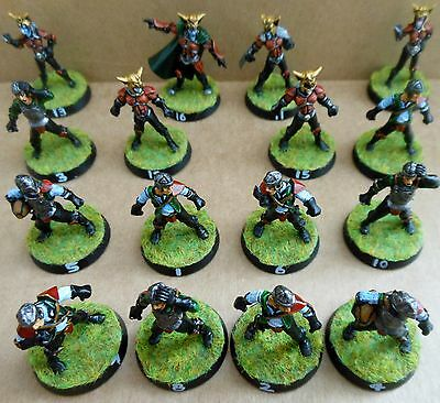 2003 Vampire Bloodbowl 5th Edition Citadel Pro Painted Undead Team Thrall Player
