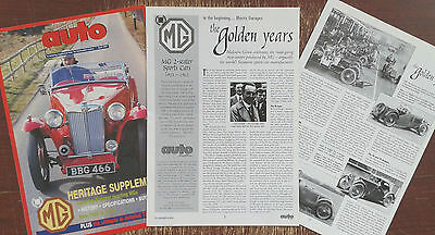 MG Heritage supplement