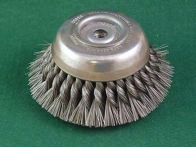 OSBORN 33026 Knot Wire Cup Brush  6""