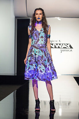 Project Runway: Junior Season 2 Ep. 5 LED Light Outfit by Molly