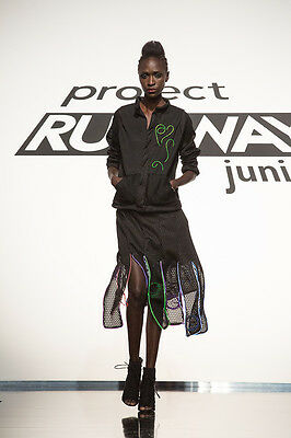 Project Runway: Junior Season 2 Ep. 5 LED Light Outfit by Izzy