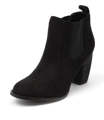 New Verali Gia Black Women Shoes Casuals Boots Ankle Boots