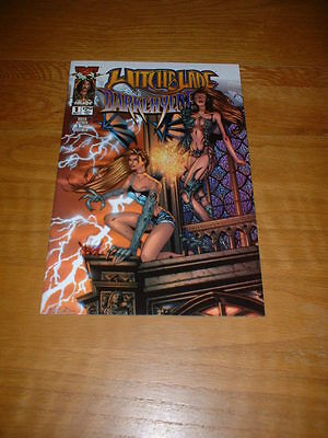 Witchblade / Darkchylde 1. Sept 2000. Nm Cond.  Image/top Cow