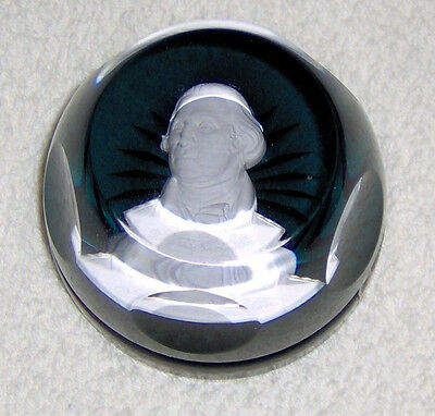 1982 Limited Edition Cristal Sevres Daughters American Revolution Paperweight