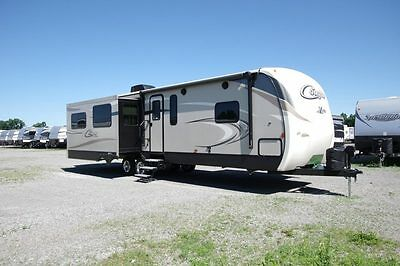 SUPER DEAL 2017 Cougar Xlite 33RES Trailer Rear Entertainment King LAST ONE RV