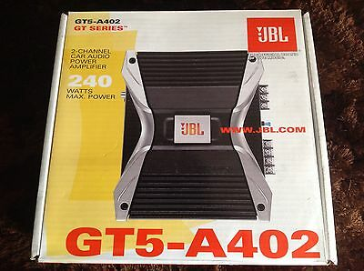 JBL Amp GT5A-402 Car Amplifier Ex Display (sold As Used)