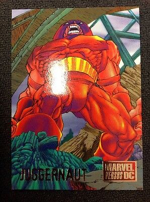 1995 Marvel Vs DC Juggernaut #34
