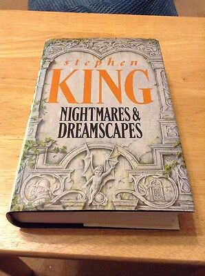 Nightmares And Dreamscapes By Stephen King (1993) Hardback