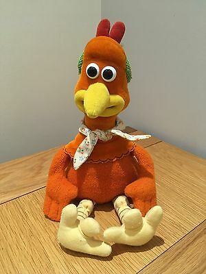Chicken Run ROCKY Soft Plush Toy Official Dreamworks 1999 Childrens Film Teddy
