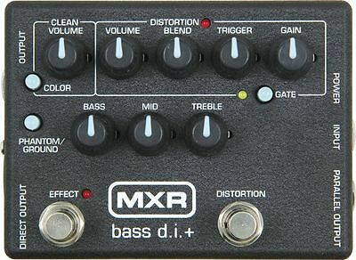 USED DUNLOP MXR M-80 DIRECT BOX w/ DISTORTION PEDAL w/ FREE CABLE 0$ US SHIP