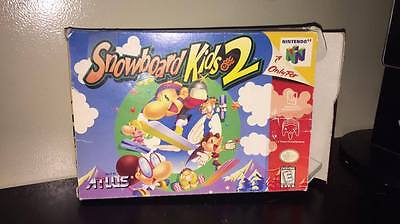 [BOX ONLY / NO GAME] Snowboard Kids 2 (N64, 1996)