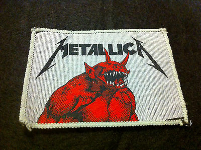 METALLICA Jump in the Fire patch vintage thrash Ride the Lightning Kill 'Em All