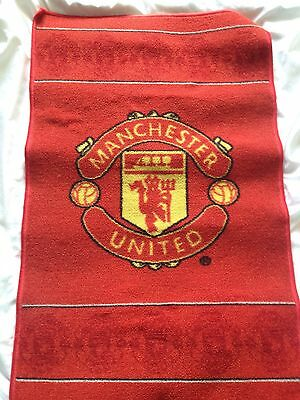 Official Manchester United Rug - Used