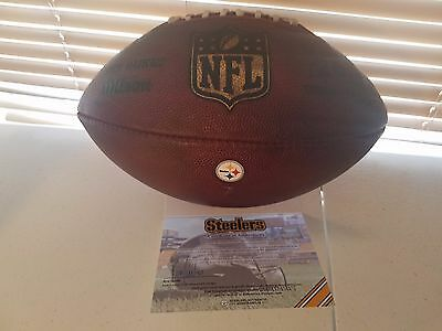 Pittsburgh Steelers Game-Used Football #7 Vs Browns 11/20/2016 Authenticated