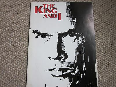 The King and I Theatre Programme 1979