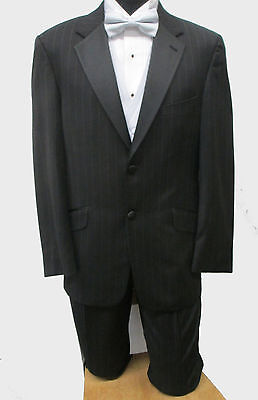 Black Joseph Abboud Tuxedo Jacket with Matching Pants Wedding Prom Mason Cruise