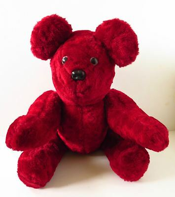 Red Valentine Bear Jointed