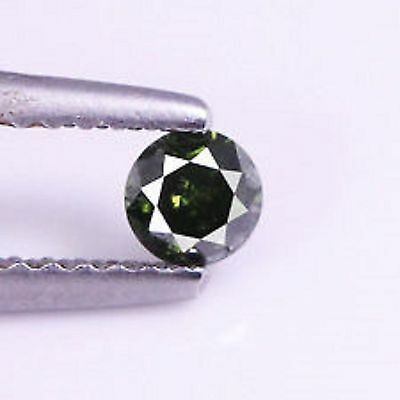 0.19 Cts CLEAN FANCY QUALITY GREEN COLOR NATURAL LOOSE DIAMONDS- SI1