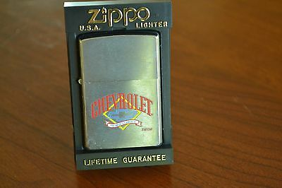 ZIPPO Lighter, Chevrolet, The Pride of America, 2000/XI, Unfired, M337
