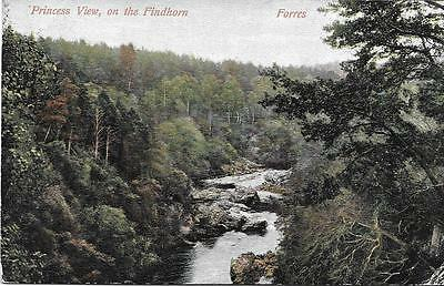 Forres. Princess View-1905 Used P/C (Pub.M.Wane & Co) - Very Good Condition !