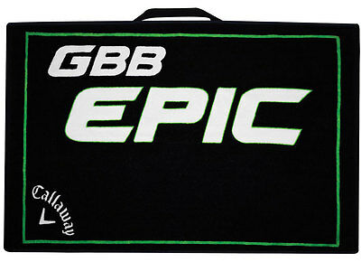 Callaway Epic Golf Towel Black/Green New
