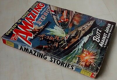 Amazing Stories vintage pulp fiction comic Sept 1942 vol 16 no 9