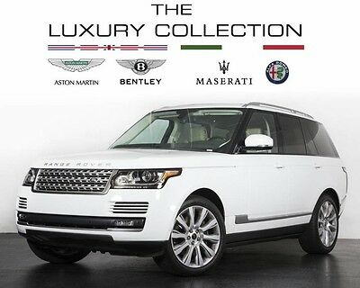 2014 Land Rover Range Rover Supercharged Sport Utility 4-Door 2014 Land Rover Supercharged