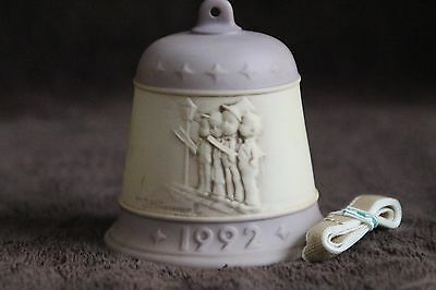 Goebel Hummel Christmas Bell 1992 4th Edition- Harmony in Four Parts w/Box #778