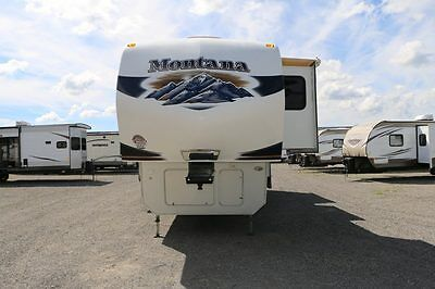 CLEARANCE LOW PRICING USED 2011 Montana 3665RE Fifth Wheel Rear Living RV