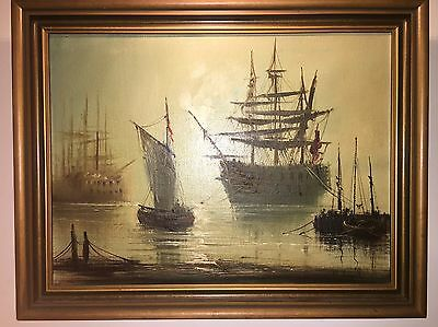 John Bampfield Original Sailing Ship Painting