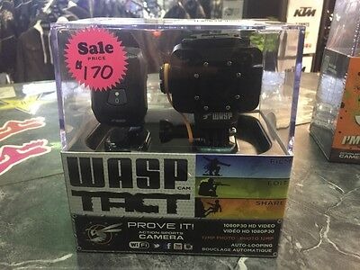 Wasp 9905 Point Of View Camera With Wrist Remote! Closeout Sale!
