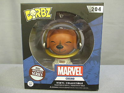 "Dorbz Guardians Of The Galaxy ""COSMO"" 204 Specialty Series POP Figure Funko NEW"