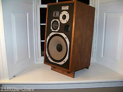 Pair of Walnut Speaker Stands made to fit Pioneer HPM 100
