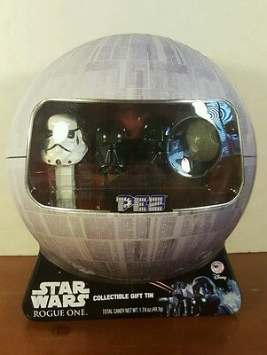 PEZ Star Wars Rogue One Death Star Collectible Gift Tin Set of 4 Limited Edition