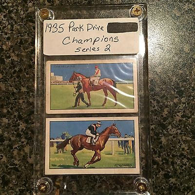 1935 Park Drive Champions Series 2 Tobacco Horse Racing Cards Colombo Chatelaine