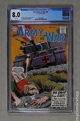 Our Army at War (1952) #89 CGC 8.0 (1445756004)