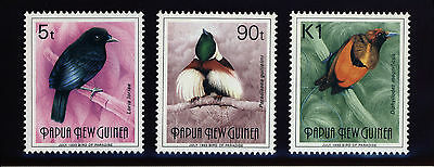 "Papua New Guinea PNG Stamps  - ""JULY 1993"" at Base - Bird REPRINTS - MNH"