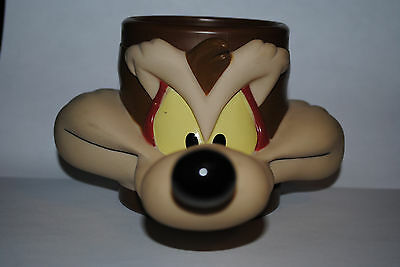 Vintage Looney Toons Wile E. Coyote 3D Collector Cup Mug