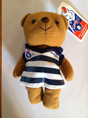 Afl Licensed Geelong Cats Beanie Bear