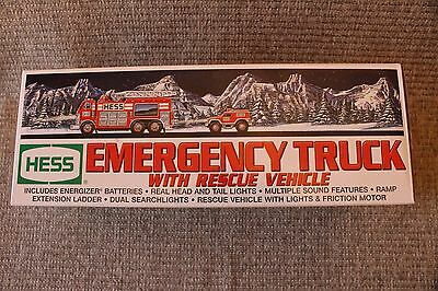 HESS 2005 Emergency Truck With Rescue Vehicle NIB