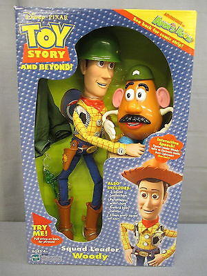 "Toy Story and Beyond ""SQUAD LEADER WOODY"" Adventures in Andy's Room 13 Inch"
