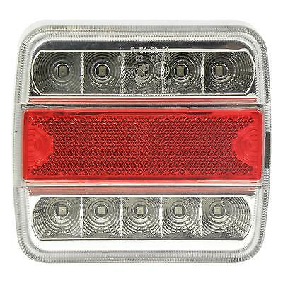 Feu arriere 5 functions 10 LED 100x10x37mm