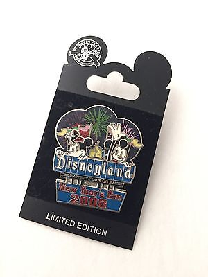 NEW DISNEYLAND NEW YEAR'S EVE 2008 Mickey and Minnie Limited Edition Pin