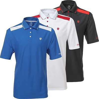 50% OFF Island Green 2016 Logo Chest Performance Cool Pass Mens Golf Polo Shirt