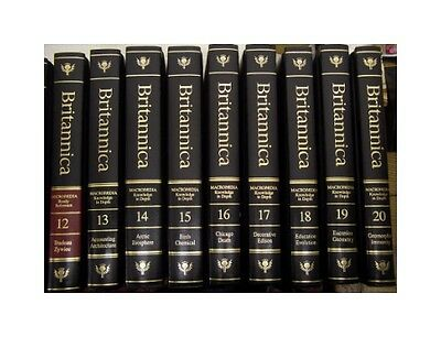 The New Encyclopaedia Britannica 32 vol., 1989, black + 3 Book of the Year