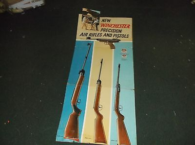 Rare Vintage Winchester Air Rifles And Pistols Store Dealer Display Huge
