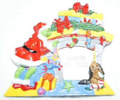 Universal Studios How the Grinch Stole Christmas Photo Shaped Picture Frame 2000