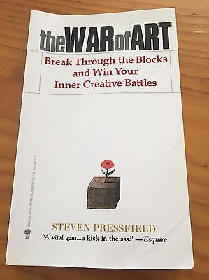 The War of Art [Paperback] by Steven Pressfield (used)