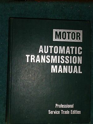 1977-1985 Chevy Ford Camaro Vette Firebird Cad Mustang+ Transmission Shop Manual