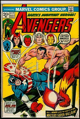 Marvel Comics AVENGERS #117 vs Defenders Sunfire VG+ 4.5